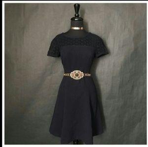 ANN TAYLOR Midi Upper&Lower Body Party Dress S